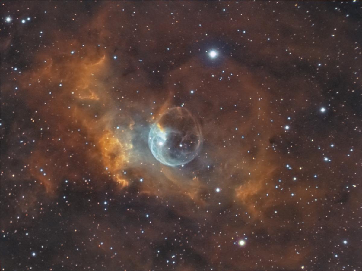 Bubble nebula - NGC7635 (GHaOIII)