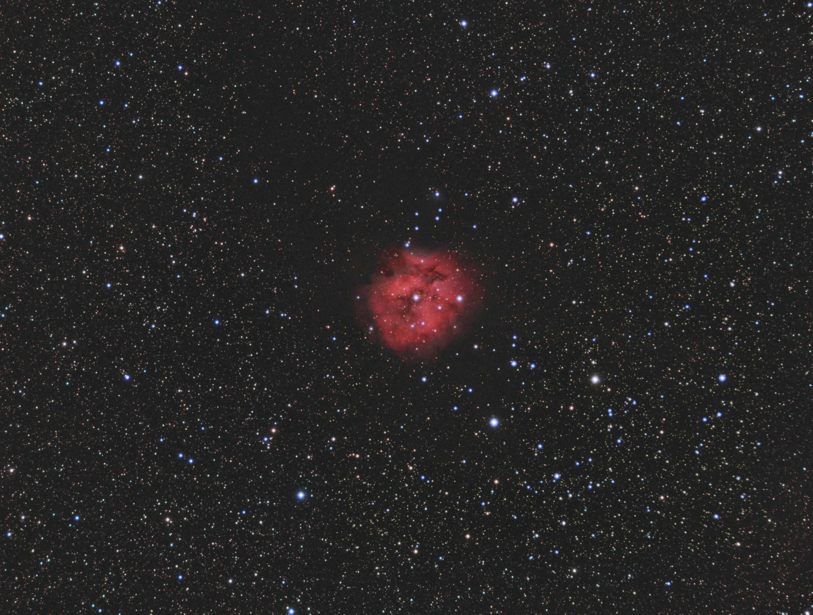 Cocoon nebula IC5416