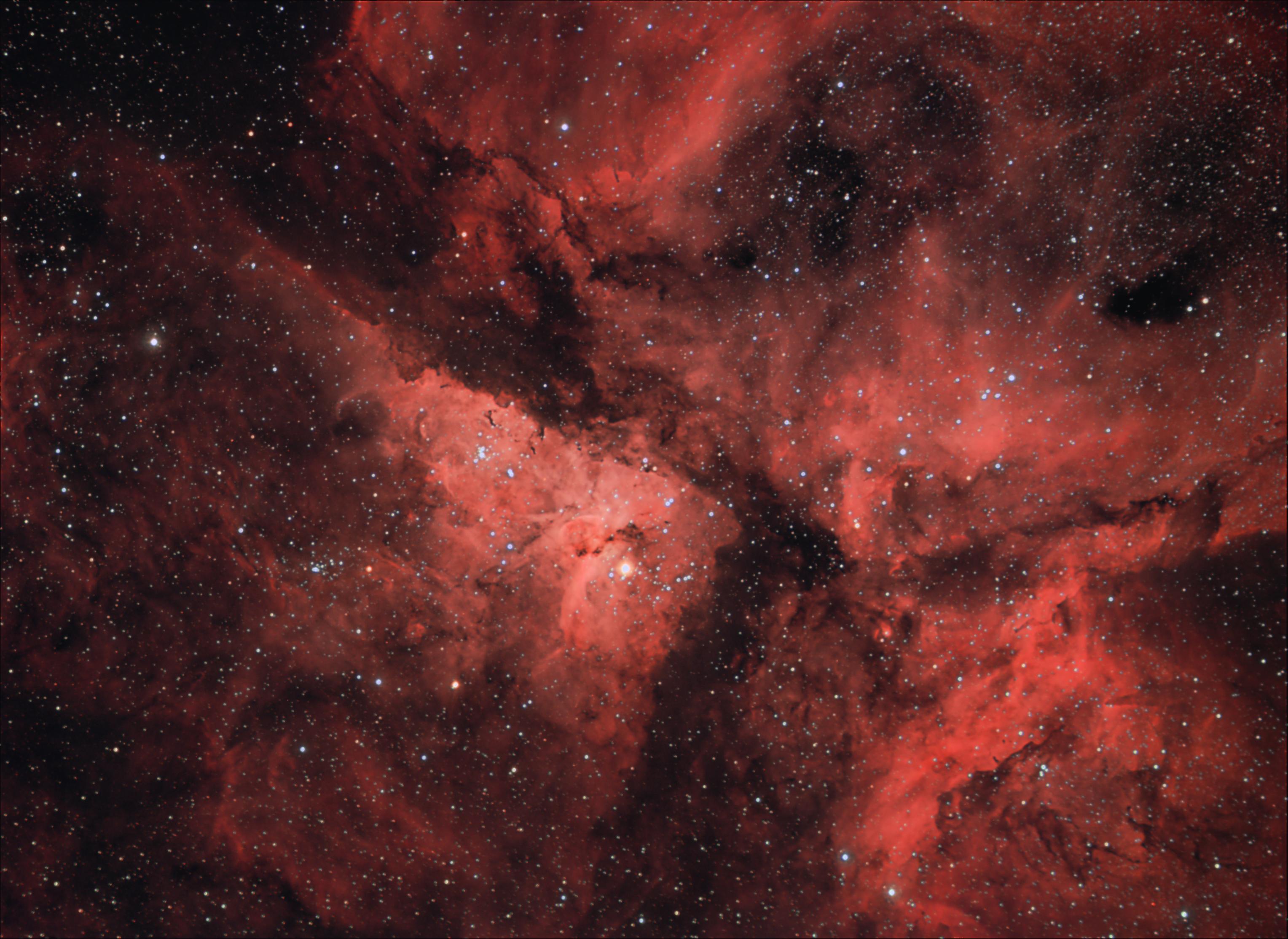 NGC 3372 - The Eta Carinae Nebula
