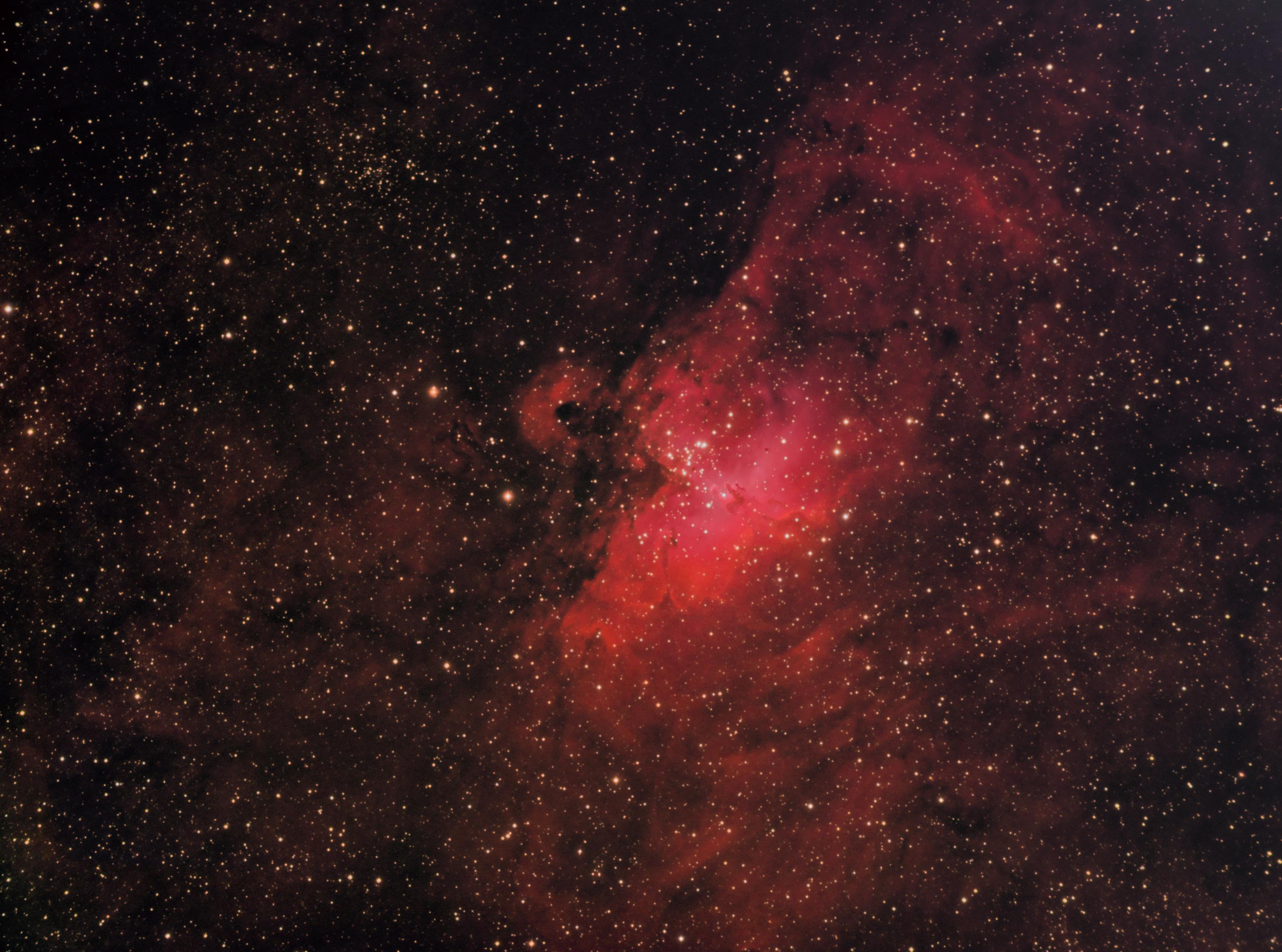 Eagle Nebula Ha-SII-OIII