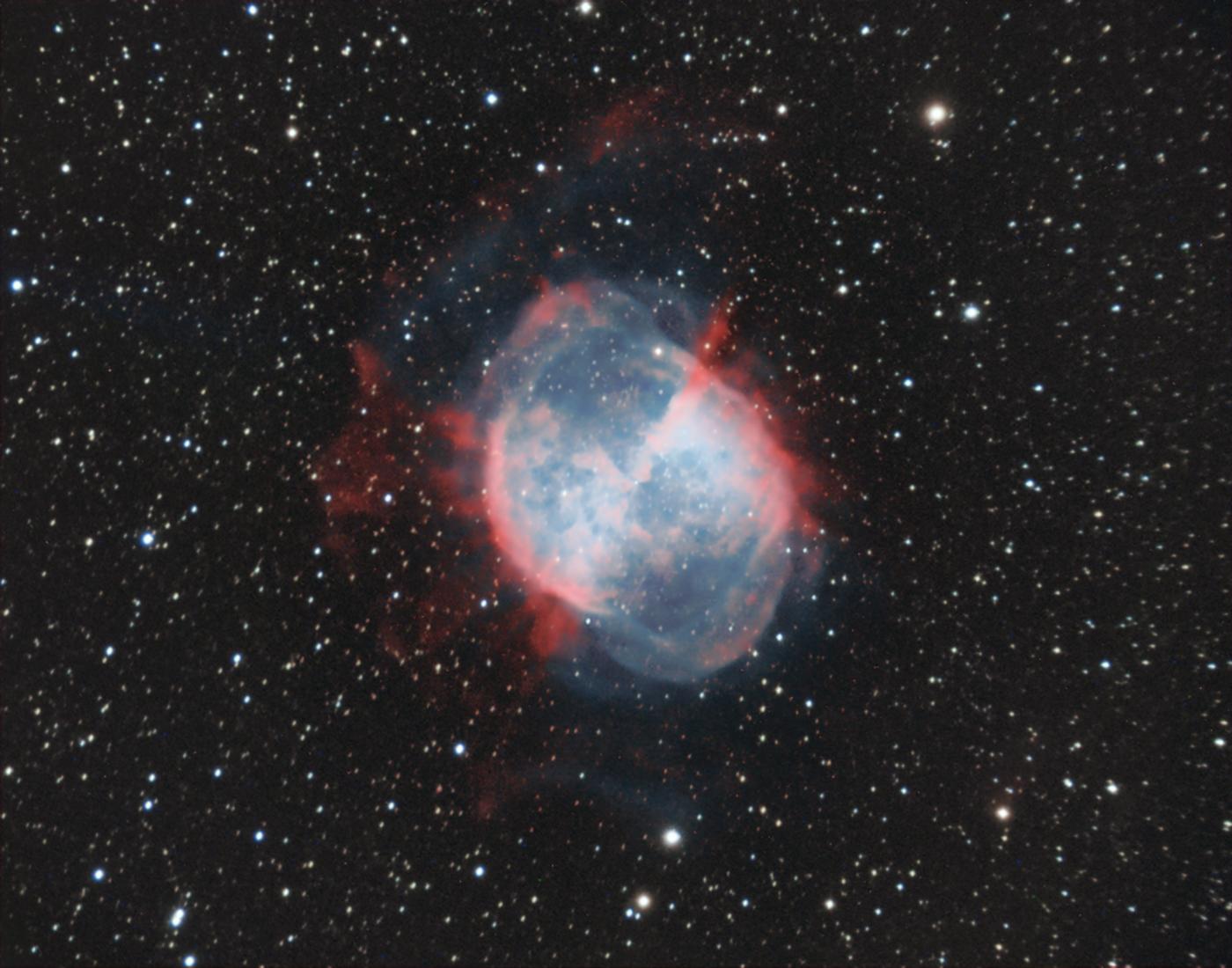 Dumbbell nebula (RHa)G(BOIII)