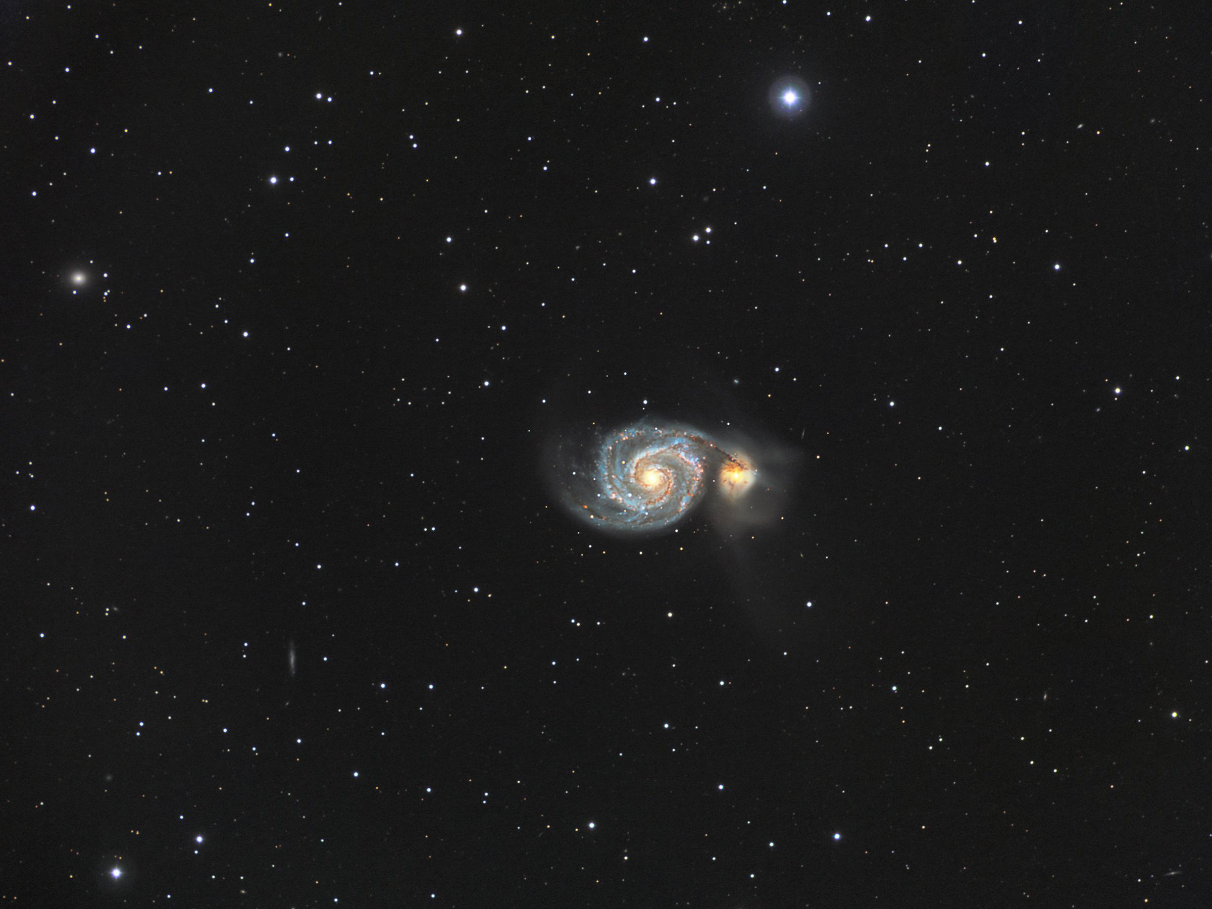 M51 Whirlpool nebula