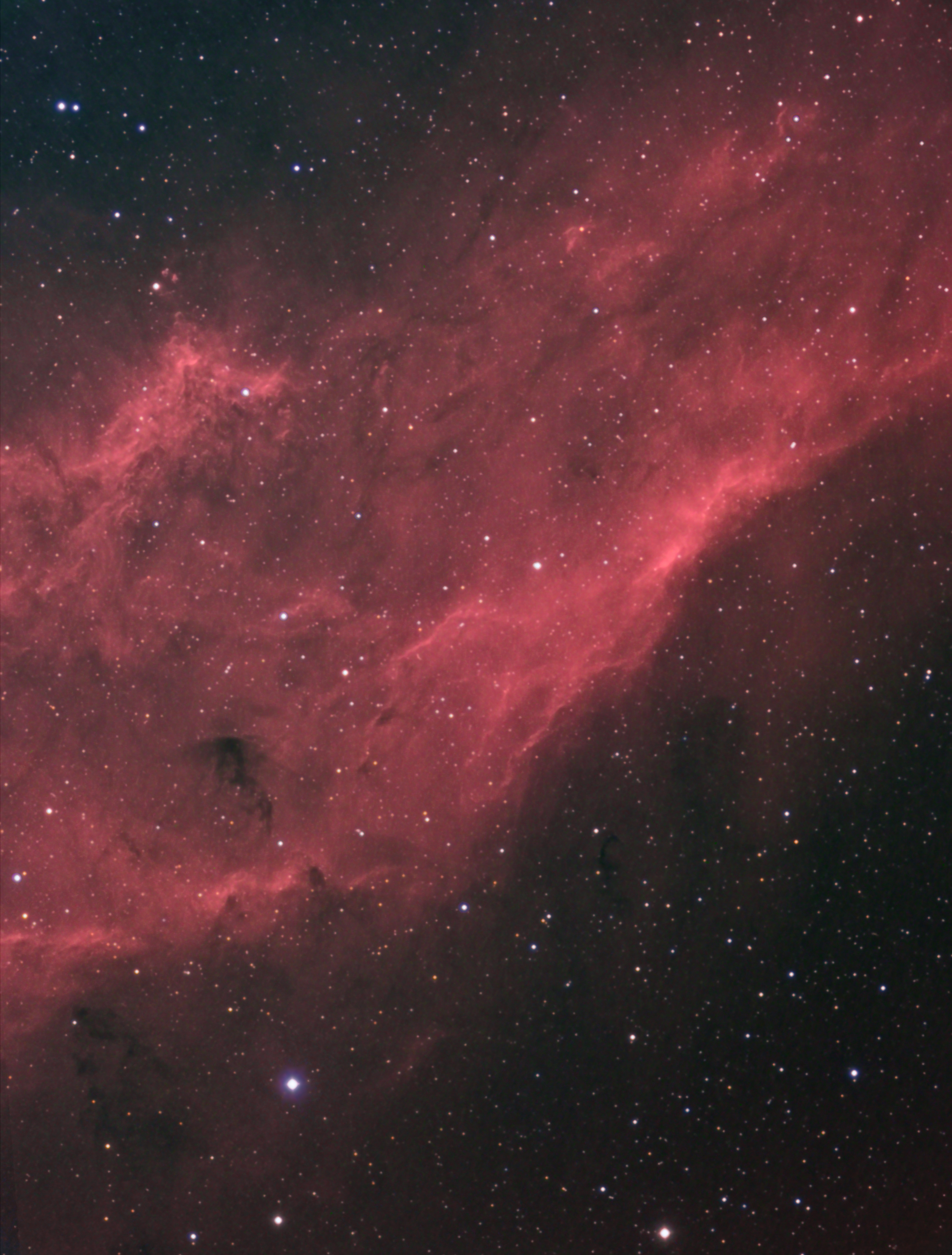 California Nebula NGC1499 (RHa)GB