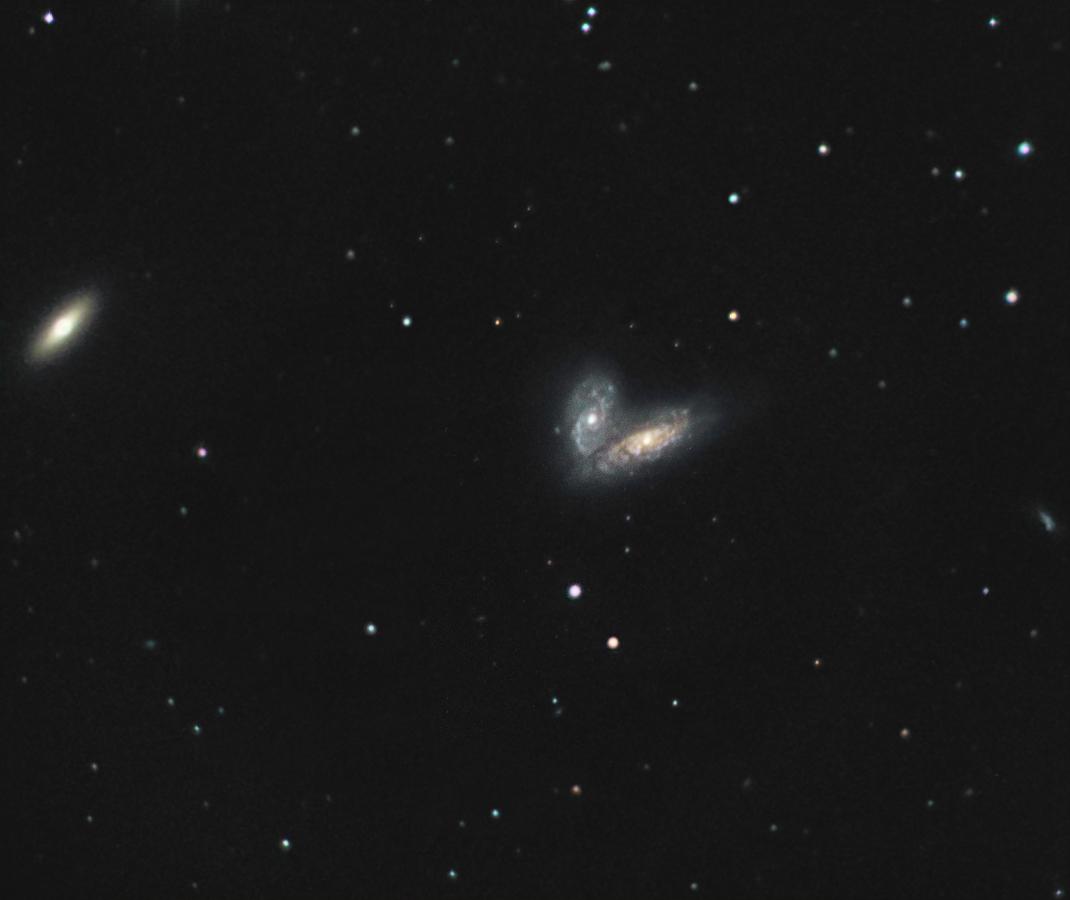 Siamese Twins (NGC 4567 and NGC 4568)