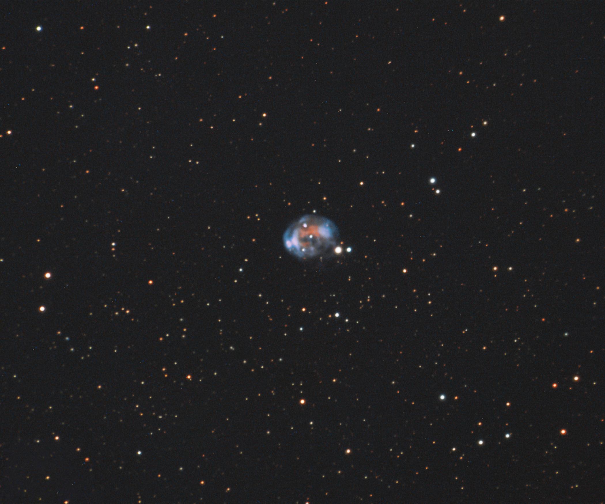 The Fetus Nebula, a planetary nebula in Cygnus