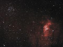 NGC7635 & M52