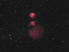 IC 2162 / Sh2-254 - Sh2-258