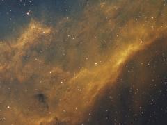 California Nebula NGC1499 SIIHaOIII